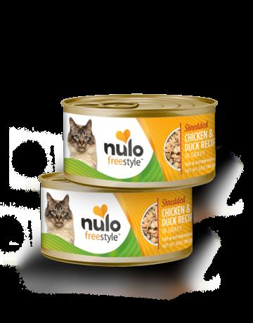 Nulo Feline Grain-Free Freestyle Shredded Chicken & Duck Recipe