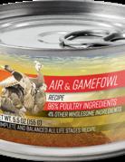 Essence Pet Foods Feline Grain-Free Air & Gamefowl Recipe