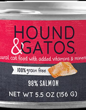 Hound & Gatos Feline Grain-Free 98% Salmon
