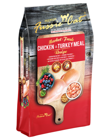 Fussie Cat Feline Grain-Free Market Fresh Chicken & Turkey Meal