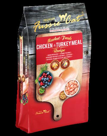 Fussie Cat Feline Grain-Free Market Fresh Chicken & Turkey Meal