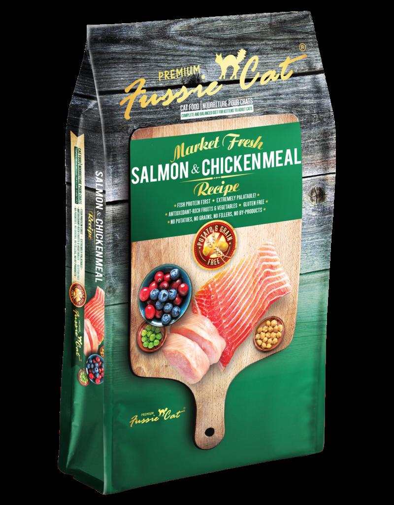 Fussie Cat Feline Grain-Free Market Fresh Salmon & Chicken Meal