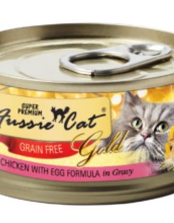 Fussie Cat Feline Grain-Free Chicken with Egg Dinner