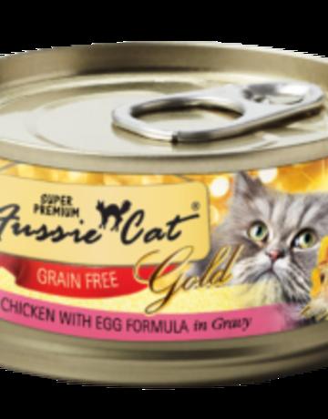 Fussie Cat Feline Grain-Free Chicken with Egg Dinner