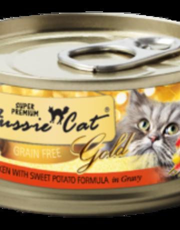 Fussie Cat Feline Grain-Free Chicken with Sweet Potatoes Dinner