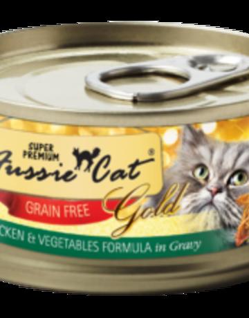 Fussie Cat Feline Grain-Free Chicken with Vegetables Dinner