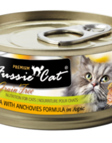Fussie Cat Feline Grain-Free Tuna with Anchovies Dinner