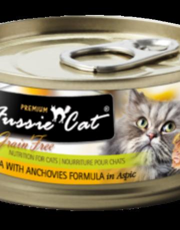 Fussie Cat Feline Grain-Free Tuna with Anchovies Dinner