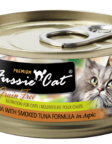 Fussie Cat Feline Grain-Free Tuna with Smoked Tuna Dinner