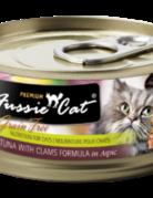 Fussie Cat Feline Grain-Free Tuna with Clams Dinner