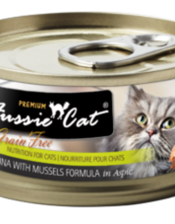 Fussie Cat Feline Grain-Free Tuna with Mussels Dinner