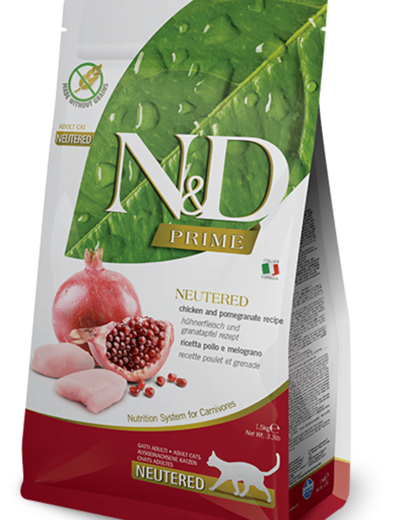 Farmina Feline Grain-Free Prime Chicken & Pomegranate Neutered