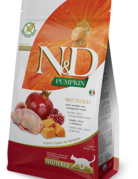 Farmina Feline Grain-Free Quail & Pomegranate Neutered
