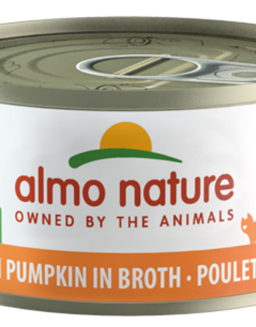 Almo Nature Feline Grain-Free Chicken with Pumpkin in Broth