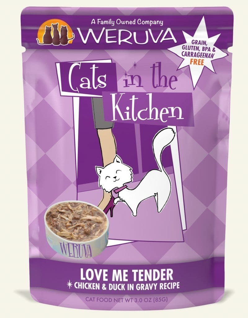 WERUVA Feline Grain-Free Cats in the Kitchen Love Me Tender