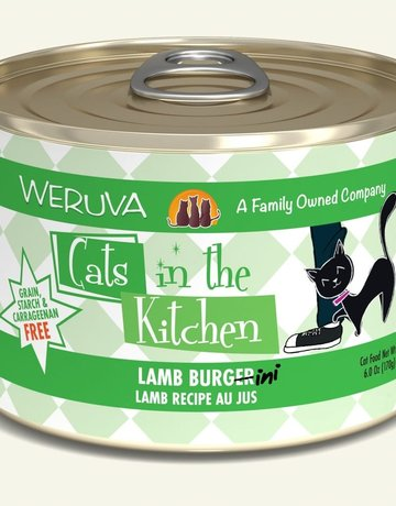 WERUVA Feline Grain-Free Cats in the Kitchen Lamb Burger-ini