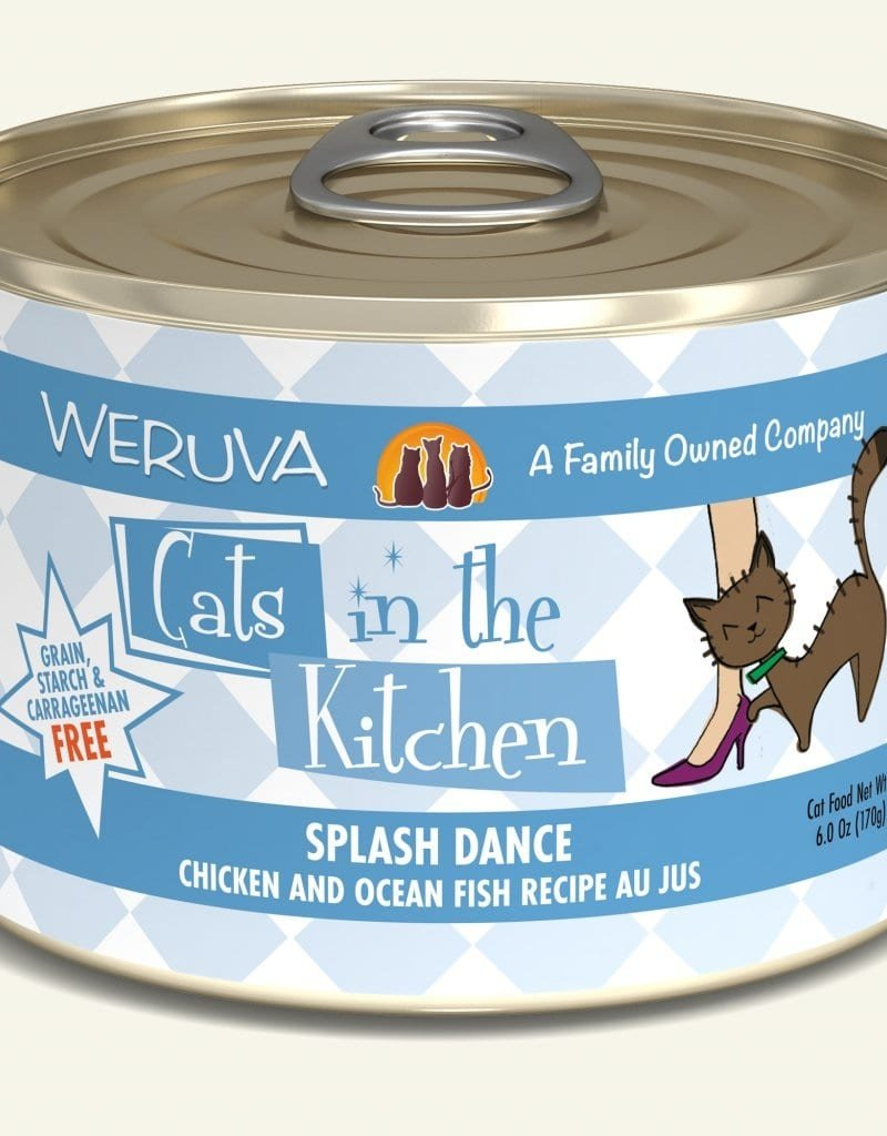 WERUVA Feline Grain-Free Cats in the Kitchen Splash Dance