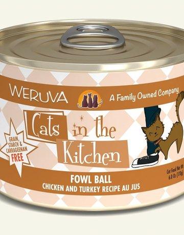 WERUVA Feline Grain-Free Cats in the Kitchen Fowl Ball
