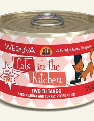 WERUVA Feline Grain-Free Cats in the Kitchen Two Tu Tango