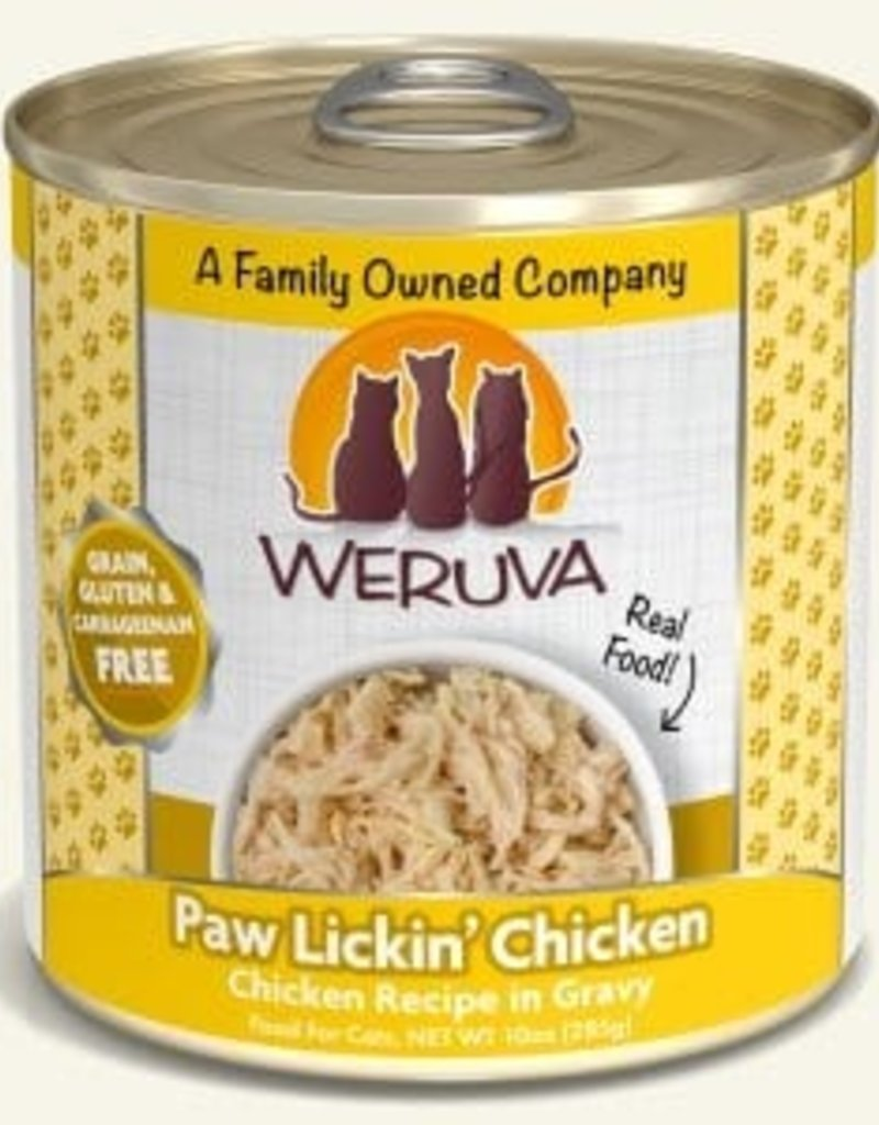 WERUVA Feline Grain-Free Paw Lickin' Chicken