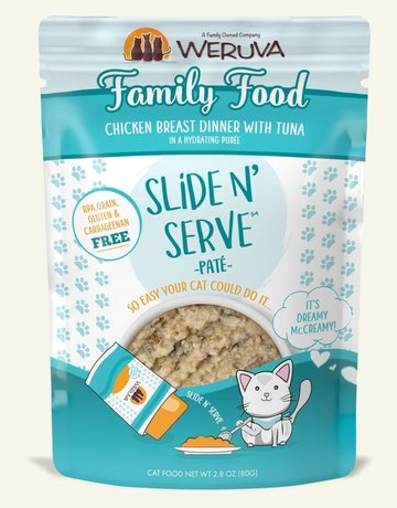 WERUVA Feline Grain-Free Slide n' Serve Family Food