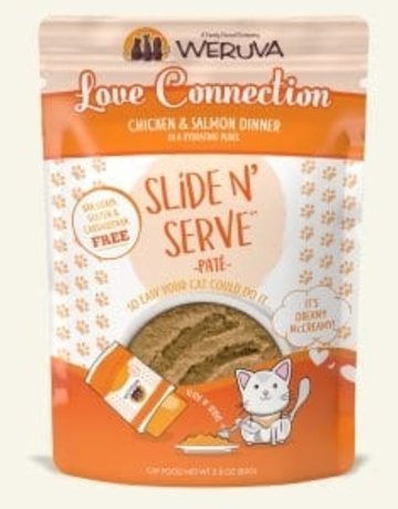 WERUVA Feline Grain-Free Slide n' Serve Love Connection