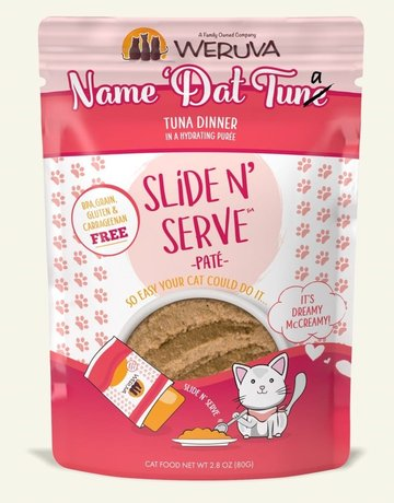 WERUVA Feline Grain-Free Slide n' Serve Name 'Dat Tuna