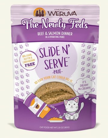 WERUVA Feline Grain-Free Slide n' Serve The Newly Feds