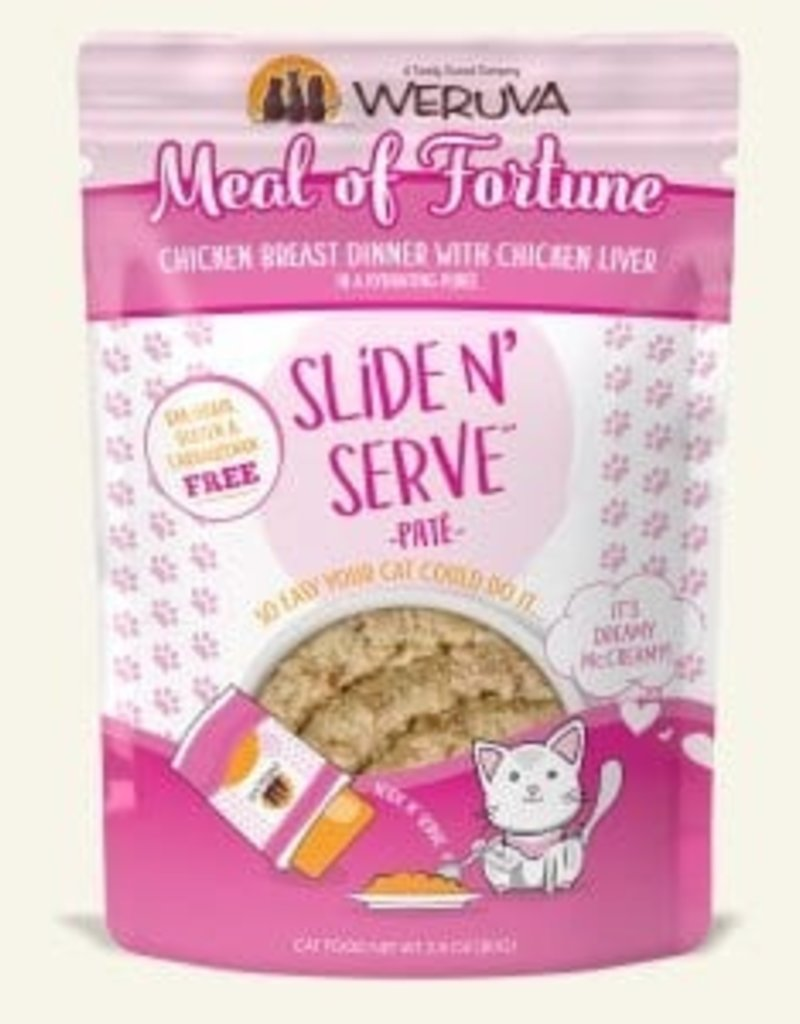 WERUVA Feline Grain-Free Slide n' Serve Meal of Fortune