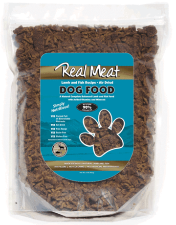Real Meat Canine Air-Dried Lamb & Fish Recipe
