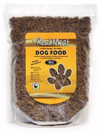 Real Meat Canine Air-Dried Chicken Recipe