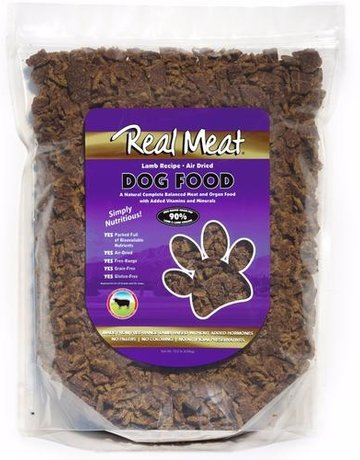 Real Meat Canine Air-Dried Lamb Recipe