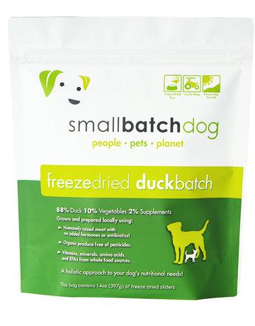 SmallBatch Pets Canine Freeze-Dried Duck Recipe