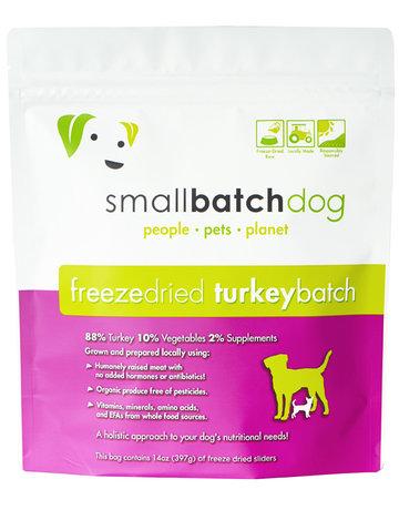 SmallBatch Pets Canine Freeze-Dried Turkey Recipe