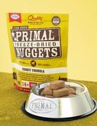 Primal Pet Foods Canine Freeze-Dried Rabbit Recipe