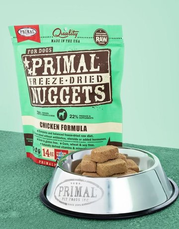 Primal Pet Foods Canine Freeze-Dried Chicken Recipe