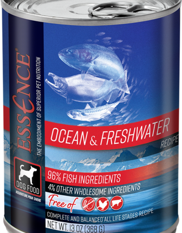 Essence Pet Foods Canine Grain-Free Ocean & Freshwater Recipe