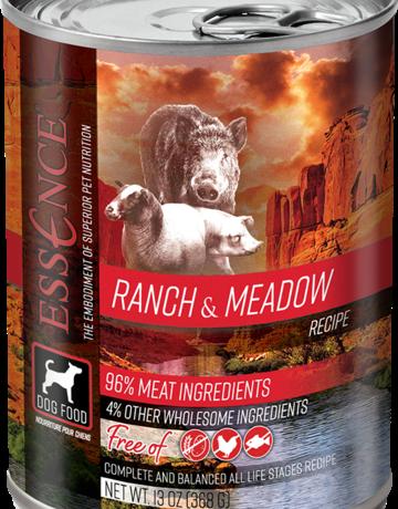 Essence Pet Foods Canine Grain-Free Ranch & Meadow Recipe