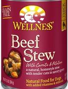 Wellness Pet Food Canine Grain-Free Homestyle Beef Stew