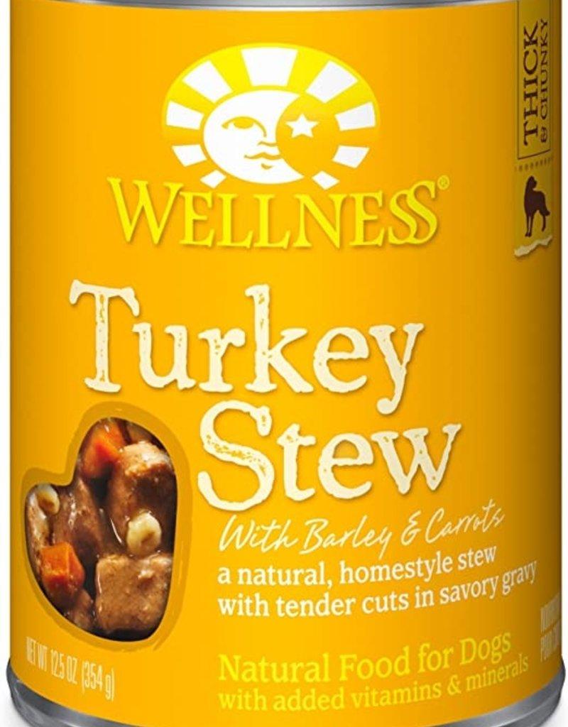 Wellness Pet Food Canine Whole Grain Homestyle Turkey Stew