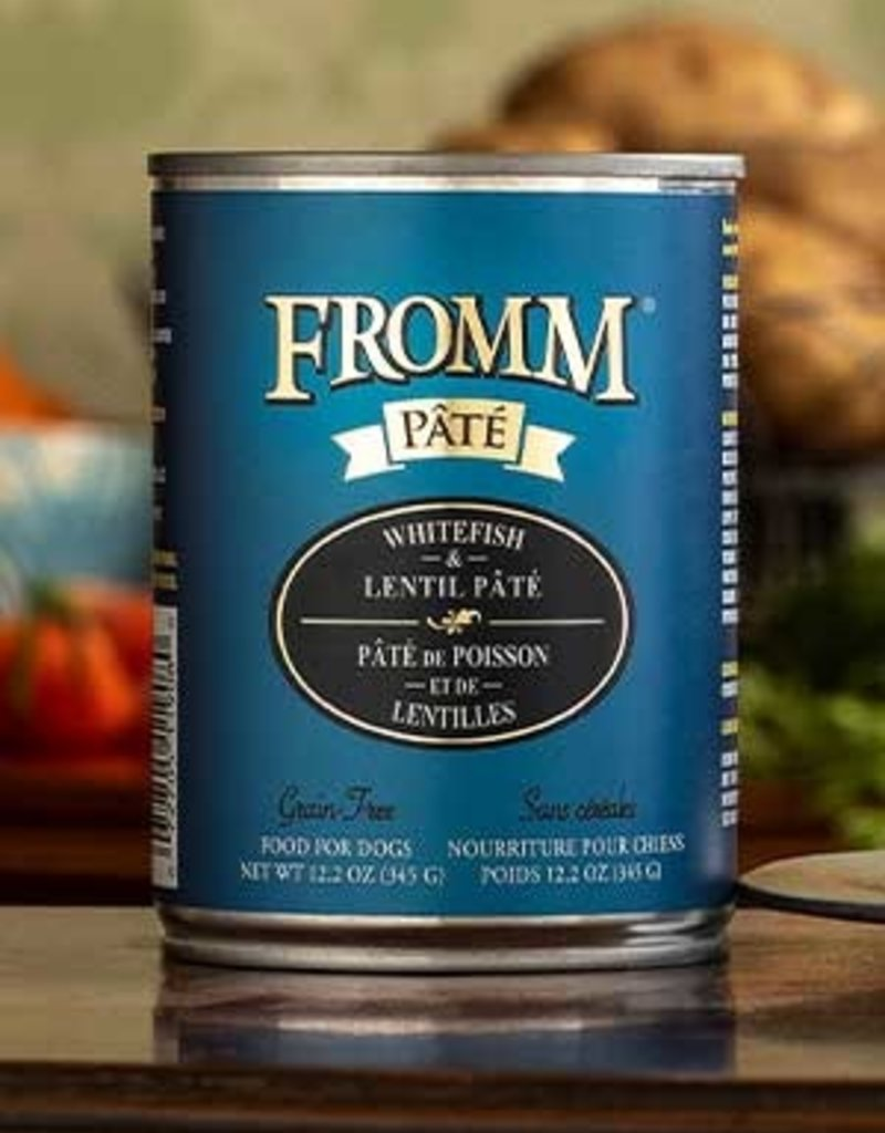 Fromm Family Pet Foods Canine Grain-Free Whitefish & Lentils Pate