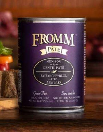 Fromm Family Pet Foods Canine Grain-Free Venison & Lentils Pate