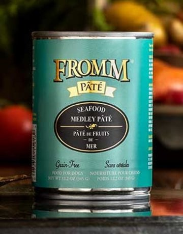 Fromm Family Pet Foods Canine Grain-Free Seafood Medley Pate