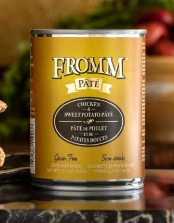 Fromm Family Pet Foods Canine Grain-Free Chicken & Sweet Potato Pate