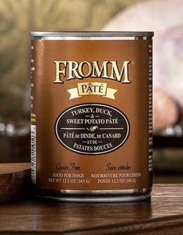 Fromm Family Pet Foods Canine Grain-Free Turkey & Duck Pate