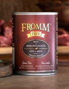Fromm Family Pet Foods Canine Grain-Free Beef & Sweet Potato Pate