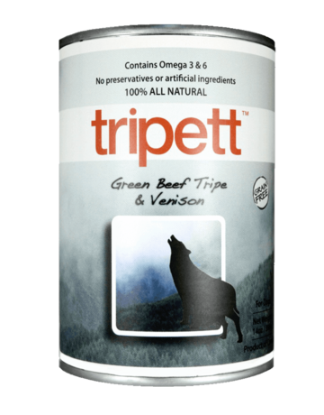 PetKind Canine Grain Free Beef Tripe with Venison