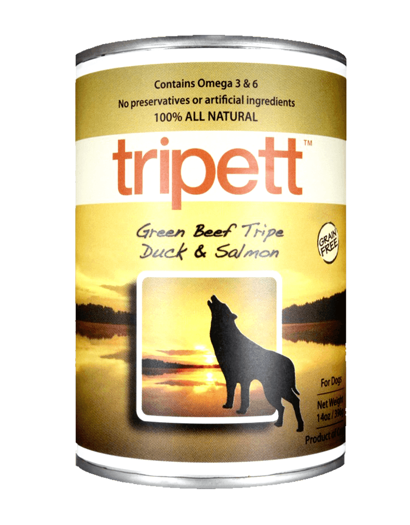 PetKind Canine Grain-Free Beef Tripe with Duck & Salmon