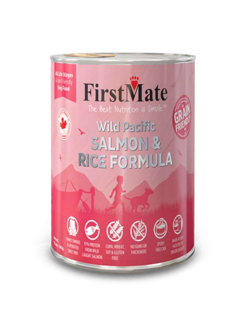 FirstMate Pet Food Canine Whole Grain Salmon & Rice Recipe