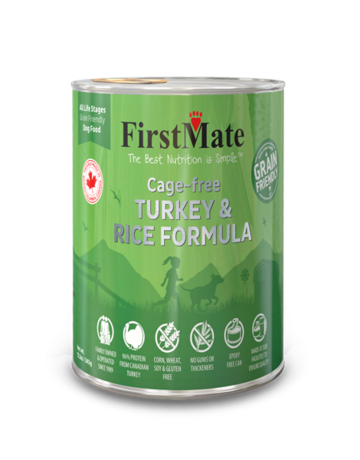 FirstMate Pet Food Canine Whole Grain Turkey & Rice Recipe